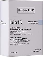 Parfumuri și produse cosmetice Fluid facial - Bella Auora Bio10 Anti Spots Serum