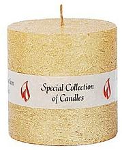 Parfumuri și produse cosmetice Lumânare naturală, 7,5 cm - Ringa Golden Glow Candle