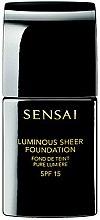 Parfumuri și produse cosmetice Fond de ten, cu efect de strălucire - Kanebo Sensai Luminous Sheer Foundation