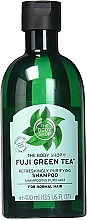 "Parfumuri și produse cosmetice Șampon ""Ceai verde"" - The Body Shop Fuji Green Tea Refreshingly Purifying Shampoo"