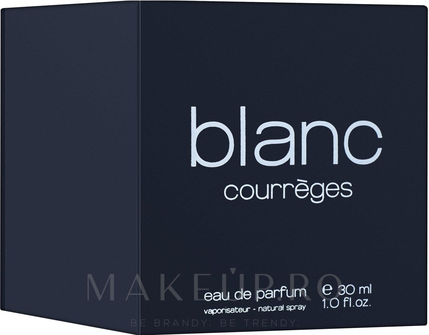 Courreges Blanc de Courreges - Apă de parfum — Imagine 30 ml