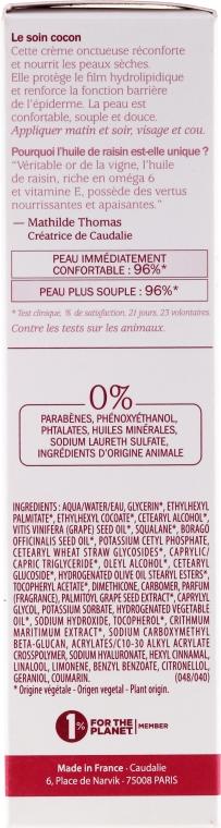 Cremă hidratantă și regenerantă - Caudalie Vinosource Moisture Recovery Cream — Imagine N3