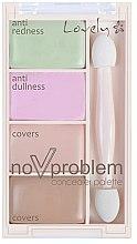 Parfumuri și produse cosmetice Paleta concealer - Lovely No Problem Corector