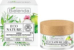 Parfumuri și produse cosmetice Cremă de față - Bielenda Eco Nature Coconut Water Green Tea & Lemongrass Face Cream