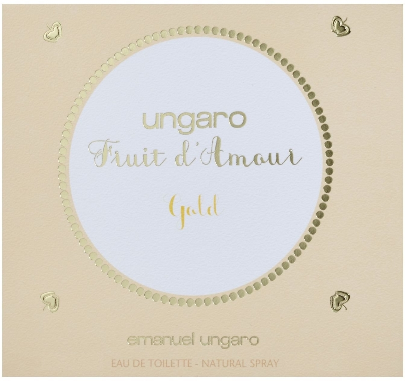 Ungaro Fruit d'Amour Gold - Apă de toaletă — Imagine N1