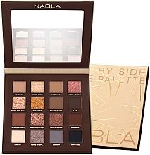 Parfumuri și produse cosmetice Paletă farduri de pleoape - Nabla Side By Side Nude Palette