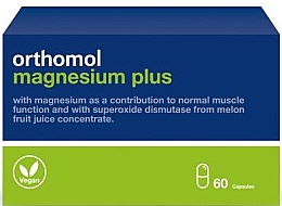 Parfumuri și produse cosmetice Vitamine din extract de pepene galben - Orthomol Magnesium Plus
