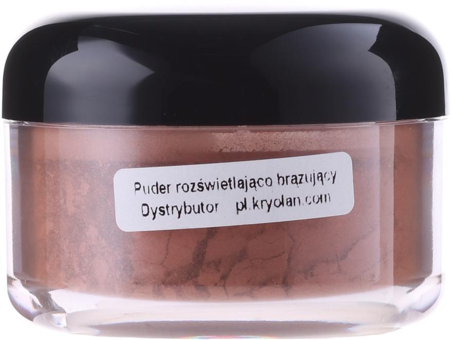 Pudră bronzantă - Kryolan Bronzing Powder — Imagine N1
