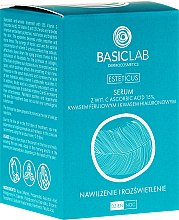 Parfumuri și produse cosmetice Ser facial cu Vitamina C - BasicLab Dermocosmetics Esteticus