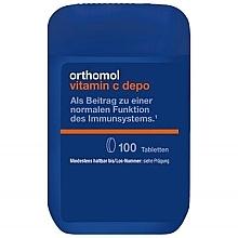 Parfumuri și produse cosmetice Supliment alimentar cu vitamina C pentru funcționarea normală a sistemului imunitar - Orthomol Vitamin C Depo
