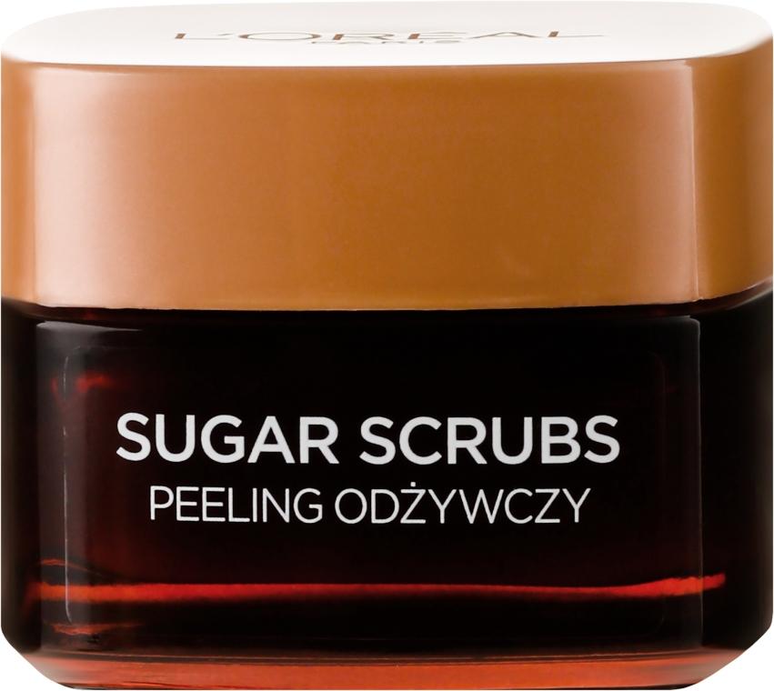 Scrub nutritiv pentru față - L'Oreal Paris Sugar Scrubs — Imagine N2