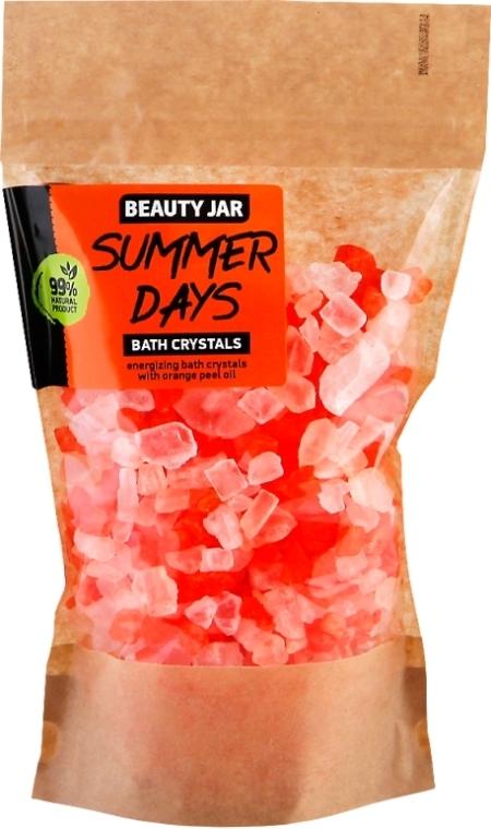 Cristalele de baie cu ulei de coajă de portocală - Beauty Jar Summer Days Energizing Bath Crystals with Orange Peel Oil