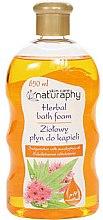 """Parfumuri și produse cosmetice Spumă de baie """"Eucalipt"""" - Bluxcosmetics Naturaphy Herbal Bath Foam"""