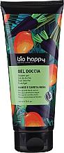 "Parfumuri și produse cosmetice Gel de duș ""Mango și morcov negru"" - Bio Happy Shower Gel Mango And Black Carrot"