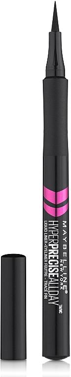 Tuş-cariocă pentru pleoape - Maybelline Hyper Precise All Day Liquid Eyeliner Makeup