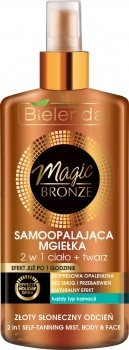 Spray-autobronzant pentru față și corp - Bielenda Magic Bronze
