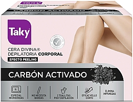 Parfumuri și produse cosmetice Ceară cu cărbune activ pentru epilare - Taky Activated Carbon Body Depilatory Wax