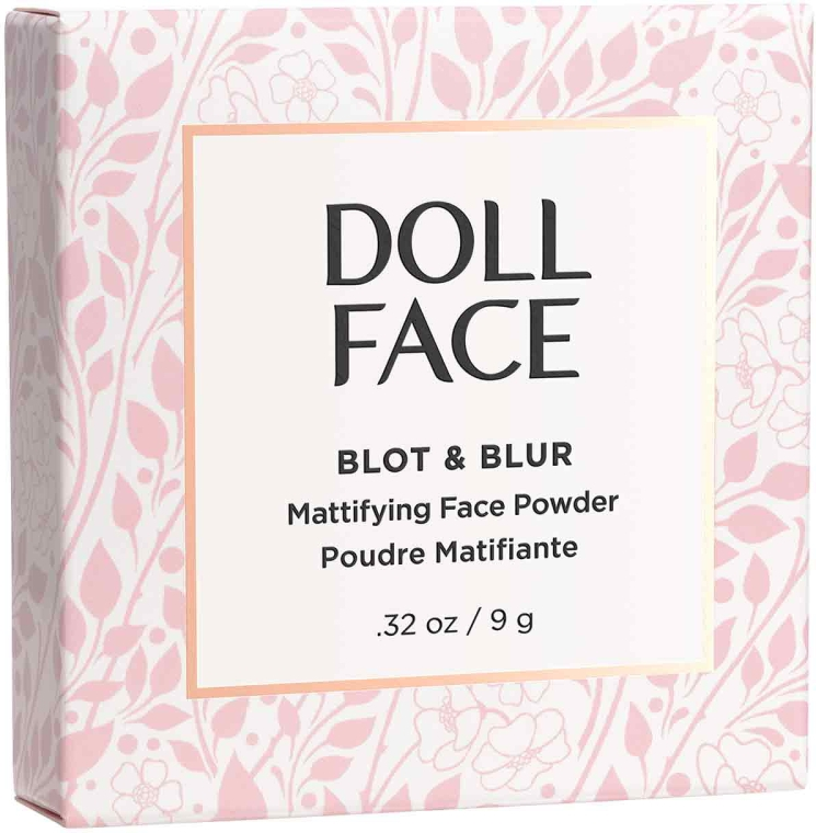 Pudră matifiantă pentru față - Doll Face Blot & Blur Mattifying Powder — Imagine N3