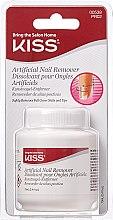 Parfumuri și produse cosmetice Soluție pentru înlăturarea gel-lacului - Kiss Artificial Nail Remover