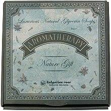Parfumuri și produse cosmetice Set săpunuri naturale - Bulgarian Rose Aromatherapy Nature Soap