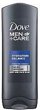 """Parfumuri și produse cosmetice Gel de duș """"Hidratare echilibrată"""" - Dove Men+Care Hydration Balance Body Wash"""