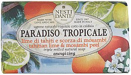 "Parfumuri și produse cosmetice Săpun ""Lime și mangosteen"" - Nesti Dante Paradiso Tropicale Tahitian Lime & Mosambi Peel Soap"