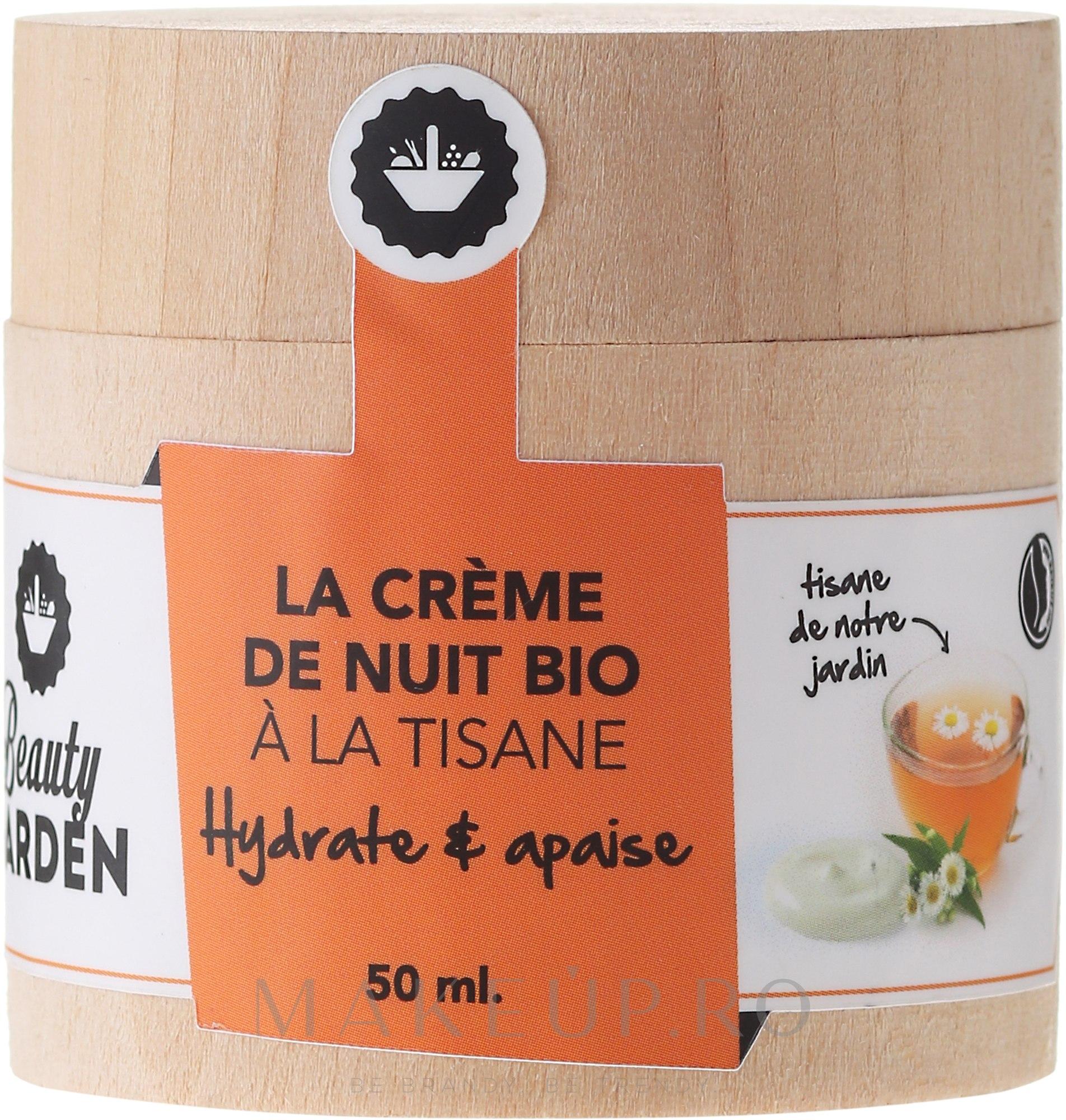 Cremă din plante pentru față - Beauty Garden Night Cream — Imagine 50 ml