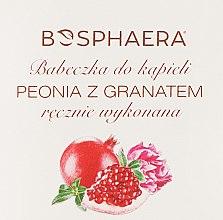 """Parfumuri și produse cosmetice Bombă de baie """"Bujor și rodie"""" - Bosphaera"""