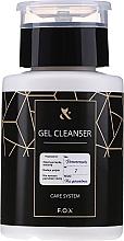Parfumuri și produse cosmetice Degresant pentru unghii - F.O.X Gel Cleanser Care System