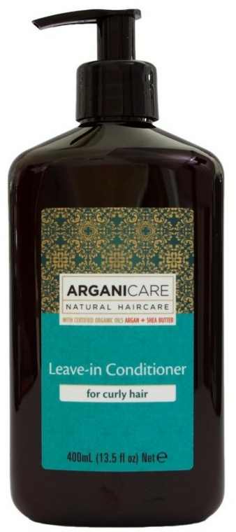 Balsam fără clătire pentru păr creț - Arganicare Shea Butter Leave-In Hair Conditioner For Curly Hair — Imagine N1
