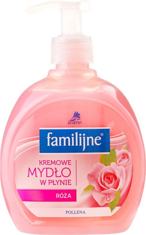 Săpun lichid - Pollena Savona Familijny Rose Creamy Liquid Soap