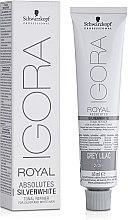 Parfumuri și produse cosmetice Vopsea de păr - Schwarzkopf Professional Absolutes Silver White