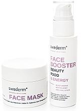 Parfumuri și produse cosmetice Set - Swederm (f/mask/100ml + f/booster/100ml)