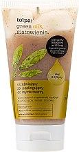 Parfumuri și produse cosmetice Scrub pentru față cu ulei din lămâie - Tolpa Green Oils