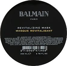 Parfumuri și produse cosmetice Mască regenerantă pentru păr - Balmain Paris Hair Couture Revitalizing Mask