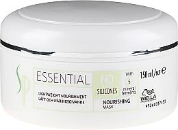 Parfumuri și produse cosmetice Mască hidratantă pentru păr - Wella SP Essential Nourishing Mask