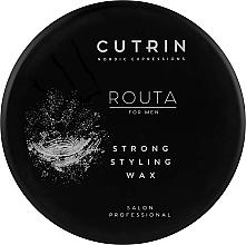 Parfumuri și produse cosmetice Ceară pentru aranjarea părului - Cutrin Routa Strong Styling Wax