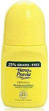 Parfumuri și produse cosmetice Heno de Pravia Original - Deodorant roll-on