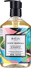 Parfumuri și produse cosmetice Săpun lichid de Marsilia - Baija Sieste Tropicale Marseille Liquid Soap