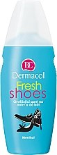 Parfumuri și produse cosmetice Spray revigorant pentru picioare și pantofi - Dermacol Fresh Shoes Spray