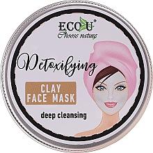 """Parfumuri și produse cosmetice Mască de față """"Curățare profundă"""" - Eco U Detoxifying Deep Cleansing Clay Face Mask"""
