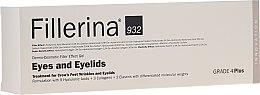 Parfumuri și produse cosmetice Gel pentru umplerea ridurilor din jurul ochilor, nivelul 4 - Fillerina Eyes And Eyelids Grade 4 Plus