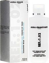 Parfumuri și produse cosmetice Lapte demachiant pentru față și ochi - Aura Chake Cleansing Milk Face & Eyes