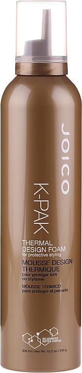 Spumă de păr, cu protecție termică - Joico K-Pak Thermal Design Foam
