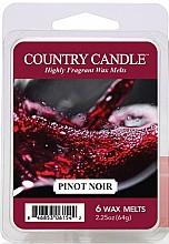 Parfumuri și produse cosmetice Ceară pentru lampă aromaterapie - Country Candle Pinot Noir Wax Melts