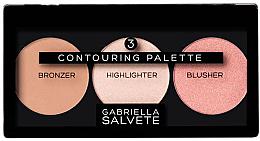 Parfumuri și produse cosmetice Paleta pentru contur facial - Gabriella Salvete Contouring Palette