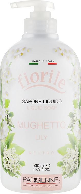 "Săpun lichid ""Crin"" - Parisienne Italia Fiorile Lily Liquid Soap"