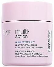 Parfumuri și produse cosmetice Mască cu argilă și efect de reînnoire pentru față - StriVectin Multi-Action Blue Rescue Clay Renewal Mask