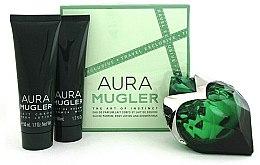 Parfumuri și produse cosmetice Mugler Aura Mugler - Set (edp/50ml + b/lot/50ml + sh/gel/50ml)