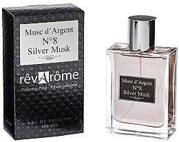 Parfumuri și produse cosmetice Revarome Private Collection No.8 Silver Musk - Apă de toaletă